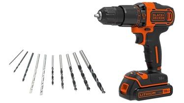 Black & Decker BDGHD18KA Cordless Hammer Drill w/ Bit Set