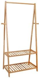 Songmics Free Standing Coat Rack Bamboo