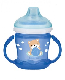 Canpol Babies Sweet Fun Non Spill Cup Blue 180ml