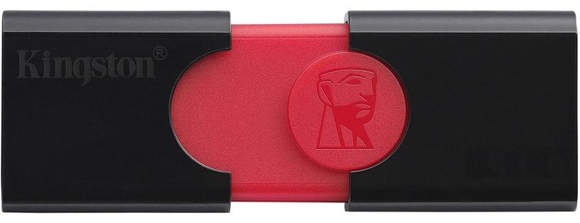 Kingston DataTraveler 106 USB 3.1 64GB Black/Red
