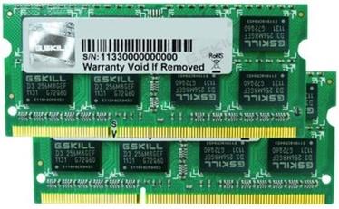 Operatīvā atmiņa (RAM) G.SKILL F3-1600C11D-16GSL DDR3 (SO-DIMM) 16 GB