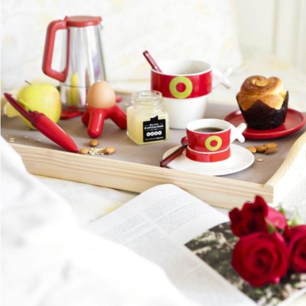ViceVersa Caffeina Coffee Maker 125ml Red