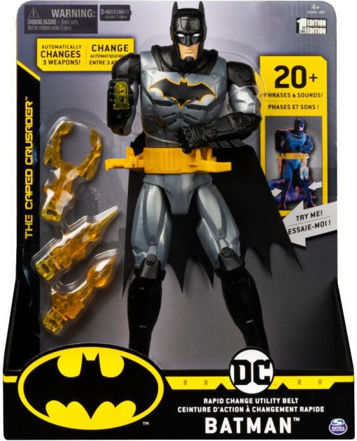 Spin Master DC The Caped Crusader Deluxe Batman 6055944
