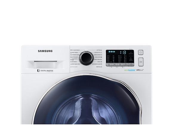 Skalbimo mašina Samsung WD80K52E0AW/LE