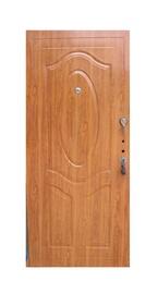 Plieninės vidaus durys JC32, ąžuolo, dešininės, 205x86 cm