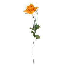 Искусственный цветок, oранжевый