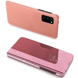 Hurtel Clear View Case For Samsung Galaxy Note 20 Ultra Pink