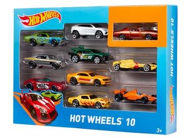 Žaislinis mašinėlių rinkinys Hot wheels 54886, 10 vnt.