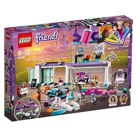 Konstruktorius LEGO Friends, Automobilių puošybos dirbtuvės 41351