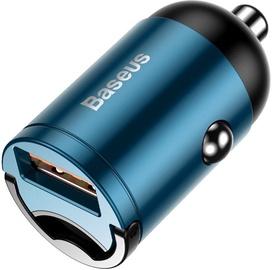 Baseus Tiny Star Mini USB Car Charger QC 3.0 Blue