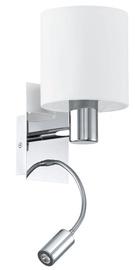 Sienas lampa Eglo Halva 90925, 1X40W E27+LED