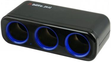 Адаптер Xblitz R3 3x Car Cigarette Lighter Splitter Black