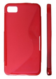 KLT Back Case S-Line Samsung Galaxy Beam Silicone/Plastic Red