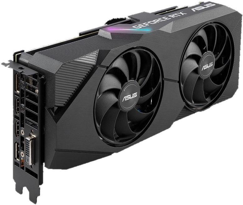 Asus Dual GeForce RTX 2060 Super EVO V2 OC 8GB GDDR6 PCIE DUAL-RTX2060S-O8G-EVO-V2
