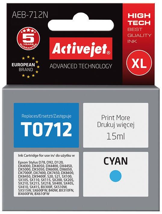 ActiveJet Cartridge AEB-712N 15ml Cyan