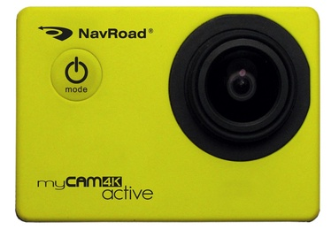 NavRoad MyCAM 4K Active Yellow