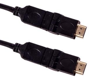 Esperanza Rotary Cable HDMI / HDMI Black 3m