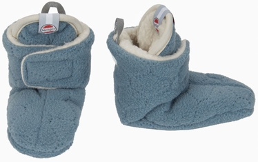 Lodger Fleece Booties BotAnimal Ocean 3-6m