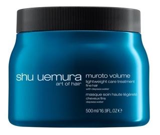 Kaukė plaukams Shu Uemura Muroto Volume Mask, 500 ml