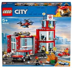 Конструктор LEGO City Пожарное депо 60215, 509 шт.