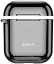 Baseus Metallic Shining Ultra-Thin Protector For Apple Airpods 1/2 Black