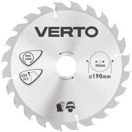 Verto Circular Saw Blade 190x30mm 24T