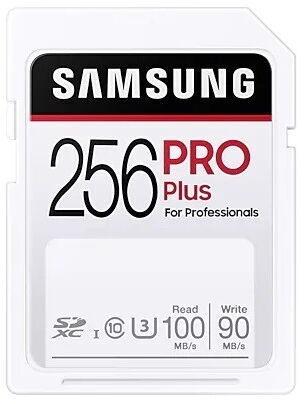 Samsung Pro Plus SDXC Memory Card 256GB