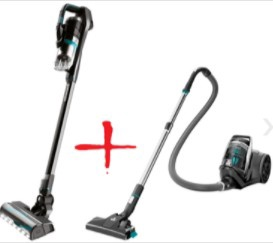 Пылесос Bissell Pet Hand & Stick Vacuum Cleaner & SmartClean Compact 2273N 2602D