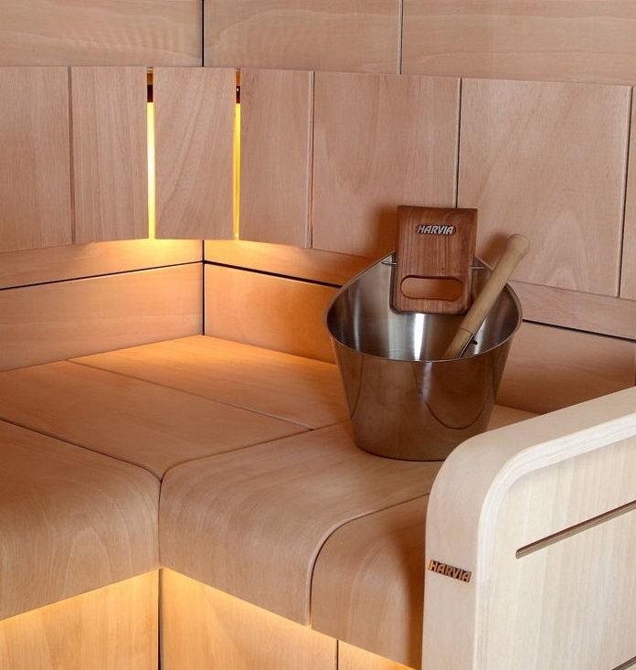 Harvia Inox Sauna Steel Set
