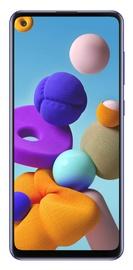 Mobilusis telefonas Samsung Galaxy A21s SM-A217 Blue, 64 GB