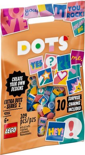 Konstruktorius LEGO®DOTs 41916 Papildomi DOTS – 2 serija