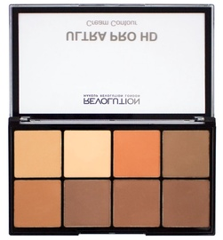 Makeup Revolution London HD Pro Cream Contour Palette 20g Medium Dark
