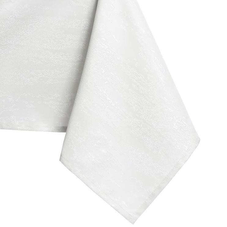 Скатерть AmeliaHome Vesta HMD White, 140x400 см