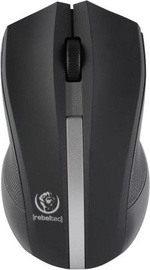 Rebeltec Galaxy Wireless Optical Mouse Black/Silver
