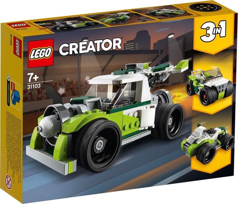 Конструктор LEGO Creator Rocket Truck 31103 31103, 198 шт.