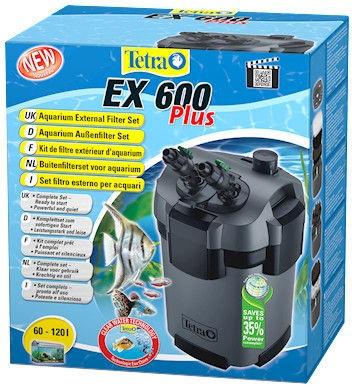 Tetra External Filter EX 600 Plus