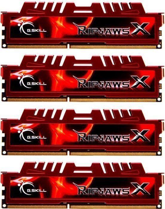 Operatīvā atmiņa (RAM) G.SKILL RipjawsX F3-10666CL9Q-32GBXL DDR3 32 GB