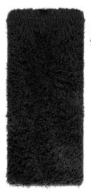Ковер AmeliaHome Karvag, черный, 160x50 см