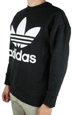 Adidas Originals Trefoil Sweatshirt CW1236 Black S