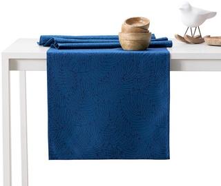 AmeliaHome Gaia AH/HMD Tablecloth Set Indigo 115x200/35x200 2pcs