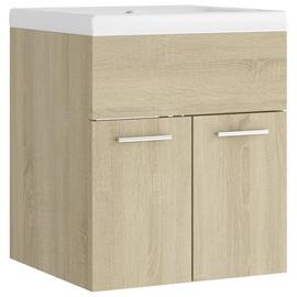Шкаф для раковины VLX 3070814, коричневый, 38.5 x 42 см x 46 см