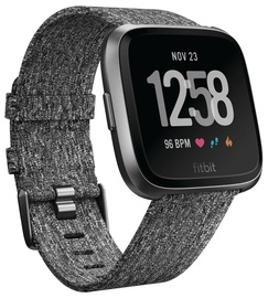 Išmanus laikrodis Fitbit Versa Special Edition Charcoal Woven