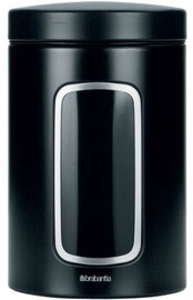 Brabantia Window Canister 1.4l Matt Black
