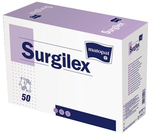 Matopat Surgilex Latex Powder Free Gloves 8 50pcs