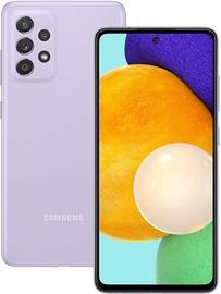 Mobilusis telefonas Samsung Galaxy A52 4G, violetinis, 6GB/128GB