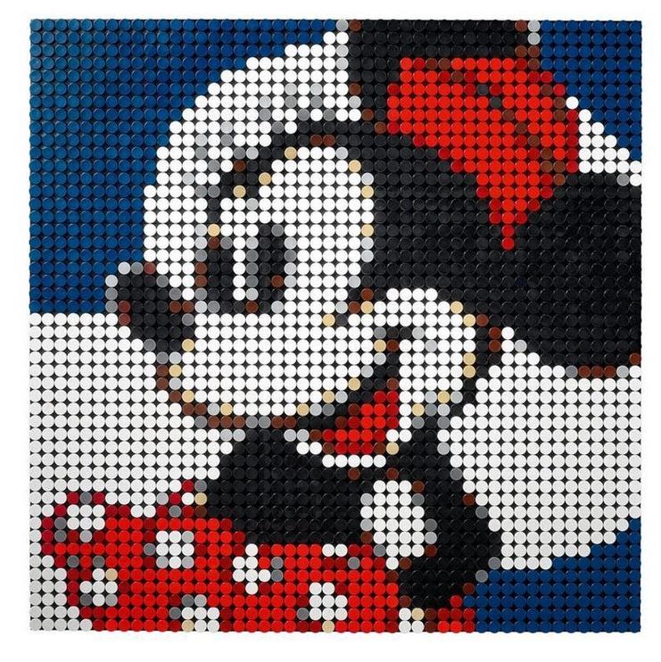 Constructor LEGO Art Disneys Mickey Mouse 31202