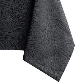 Скатерть AmeliaHome Gaia HMD Dark Grey, 155x450 см