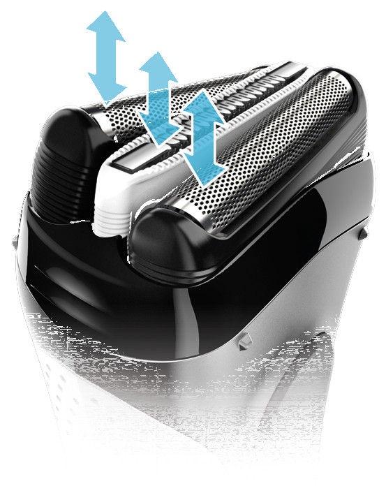 Braun Series 3 3020 Black/White