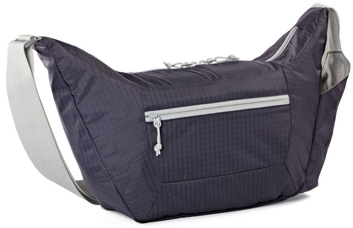 LowePro Universal Camera Bag Photo Sport Shoulder 12l Purple/Grey