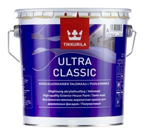 Krāsa koka fasādēm Tikkurila Ultra Classic C, 2.7 l